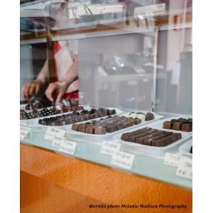 Boite de chocolats variés